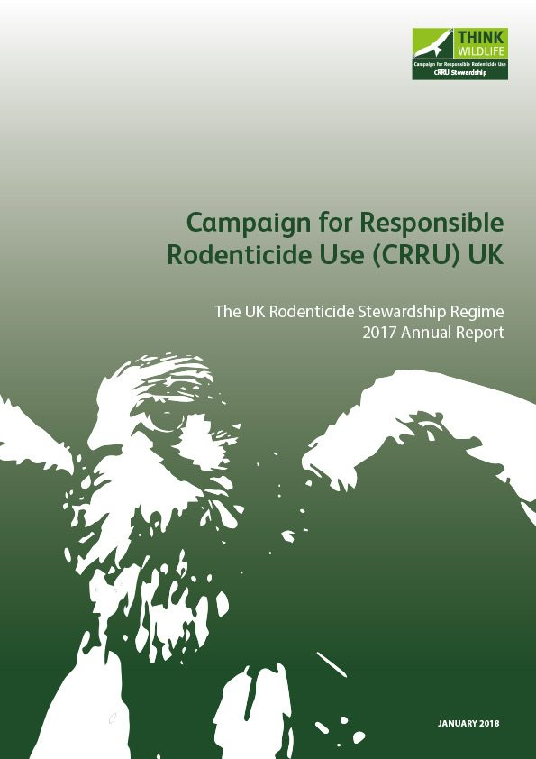 The UK Rodenticide Stewardship Regime 2017 Annual Report